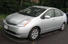The Toyota Prius was one of the first, and has been the most successful of the hybrid cars to date.