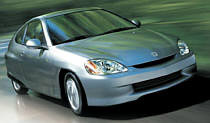 The benfits of a hybrid car, include reduced emissions, improved mileage and reduced fuel bills.