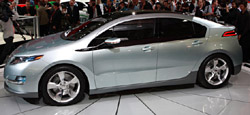The Chevy Volt will be released with Holden badging in Australia in 2012.