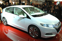 The Honda Insight set to rival the Prius for a slice of the hybrid pie.