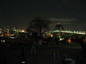 Sydney's Harbour Bridge during Earth Hour 2007. Image courtesy of www.sydneyobservatory.com.au/blog/wp-content/