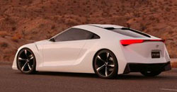 The Toyota hybrid supercar, still at concept stage, ut touring the world as the latest in hybrid technology.