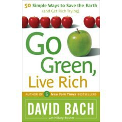 Go Green, Live Rich the new book by David Bach.