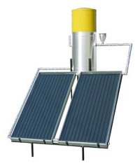 Homamade solar hot water heaters can be made in a weekend for less than $100.