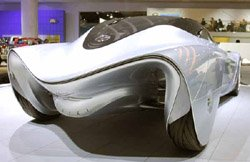 Futuristic Mazda Taiki concept car.