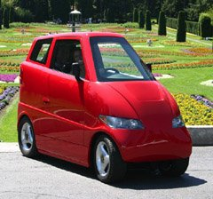 Zippy Tango electric car producing zero emissions and you can park it just about anywhere!