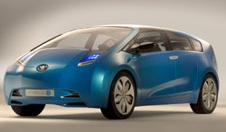 The future of hybrids? The Toyota Hybrid X concept car at the Sydney Motor Show