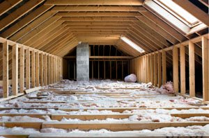 Types of blown in insulation include spray foam, soy, cellulose or newspaper, as well as wool.