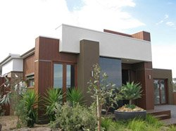 Australia's first zero emission home, located in the northern suburbs of Melbourne.